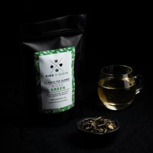 Organic Rose Infused Green Tea